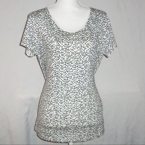 Banana Republic Geo Shirt SZ L